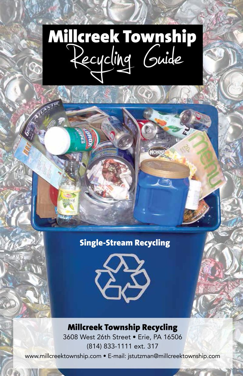 Millcreek Recycling Brochure for New Residents - Page 1