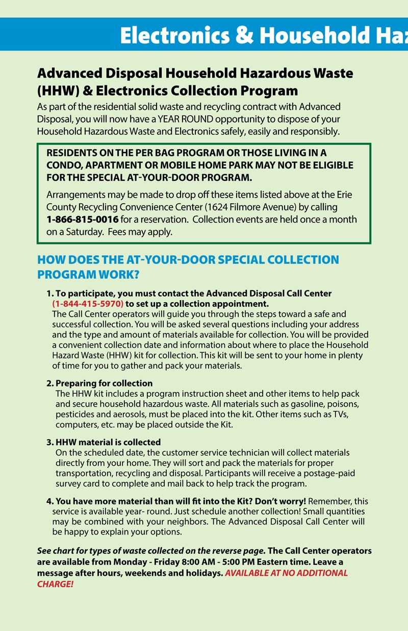 Millcreek Recycling Brochure for New Residents - Page 6