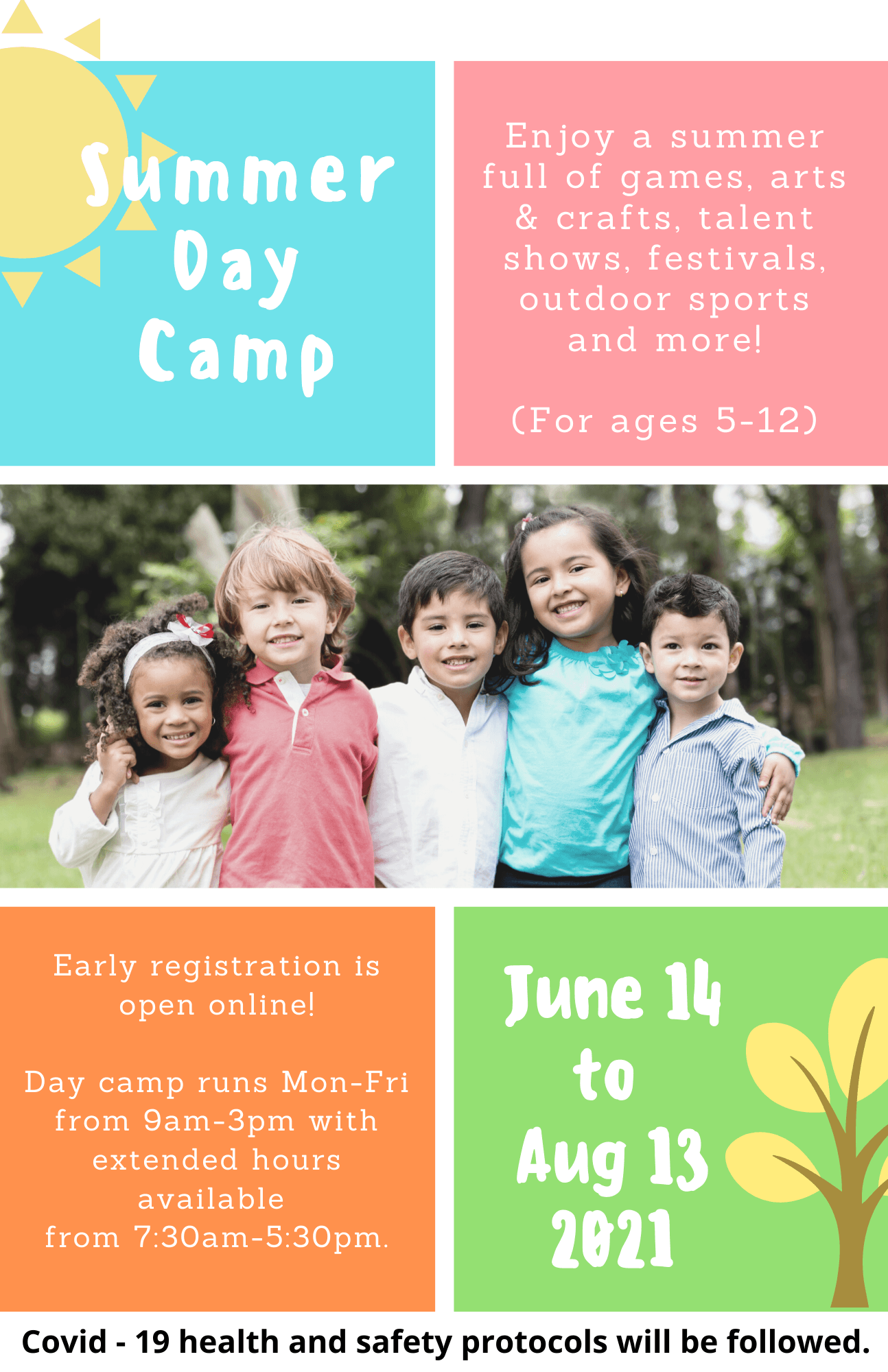 Summer Day Camp Registration Available